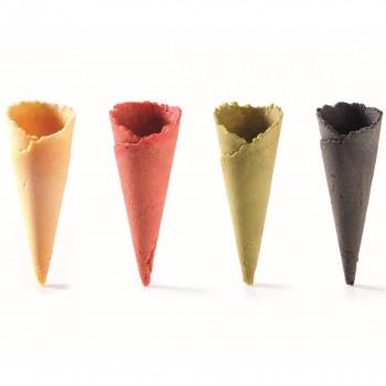 Assortiment de mini cônes 4 parfums + présentoir palette