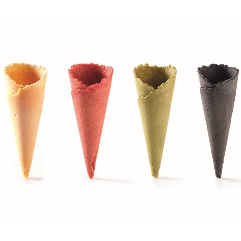Assortiment de mini cônes 4 parfums + présentoir palette-13