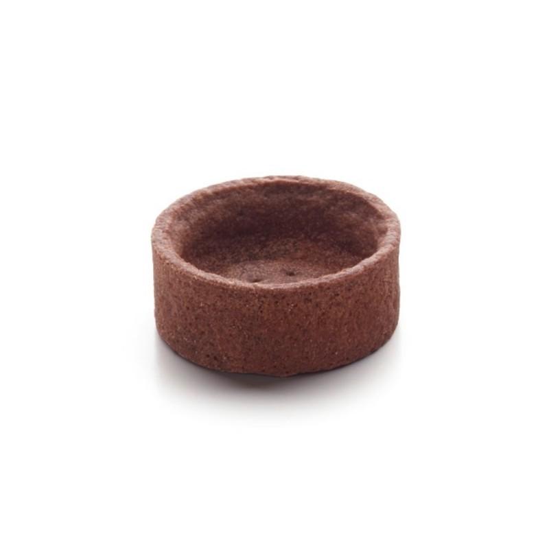 Mini trendy rond choco 4 cm-22