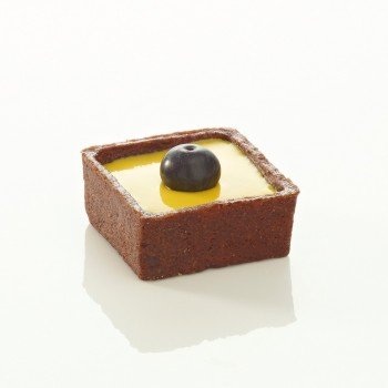 Mini trendy carré choco 3,5 cm