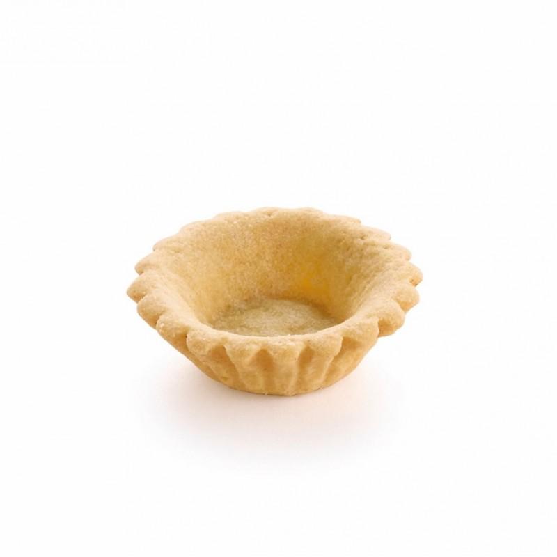 Mini tartelette sablée cannelée au beurre 4,5 cm-22