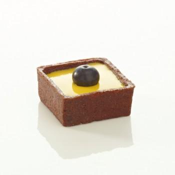 Assortiment de mini trendy ronds et carrés choco 4 cm