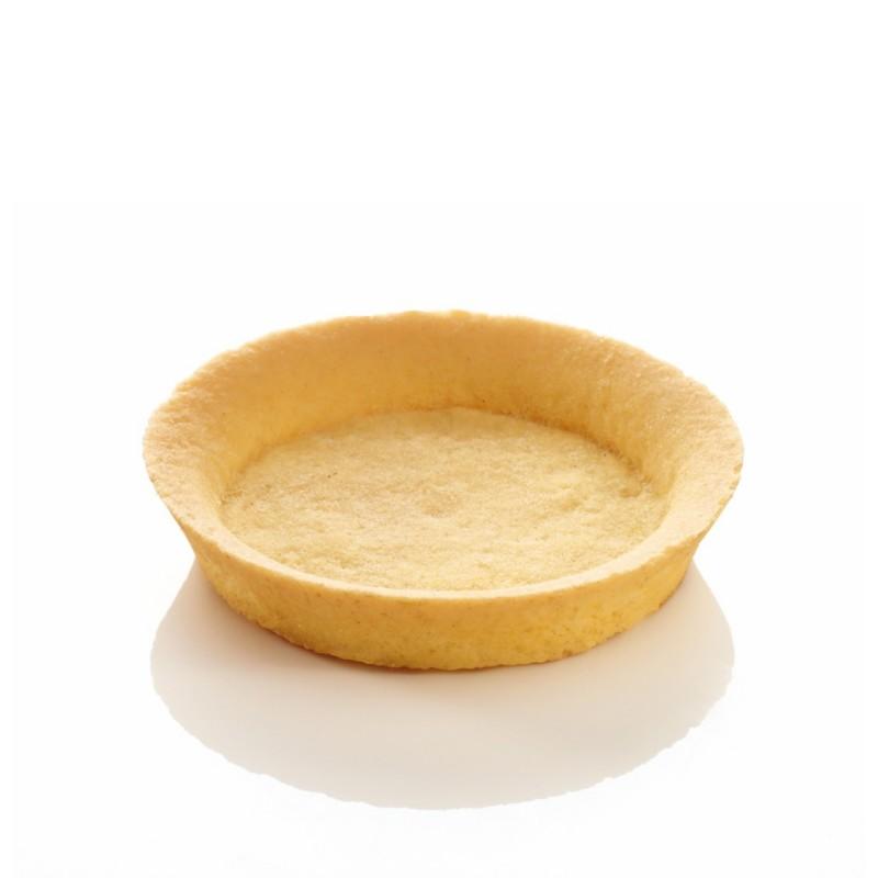 Tartelette sablée lisse au beurre 8,5 cm-23