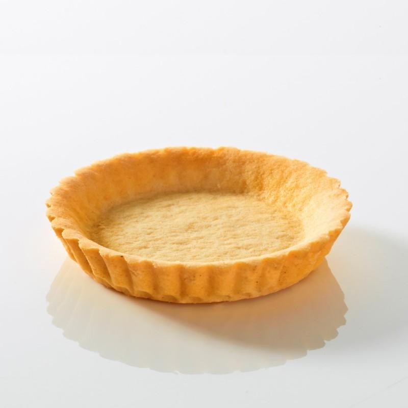 Tartelette sablée cannelée au beurre 11 cm-23