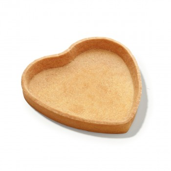 Hartvormige zanddeegtaart met boter 15 cm