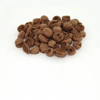 Perles de macaron chocolat