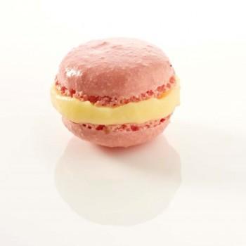 Mini macaron rose 3,5 cm