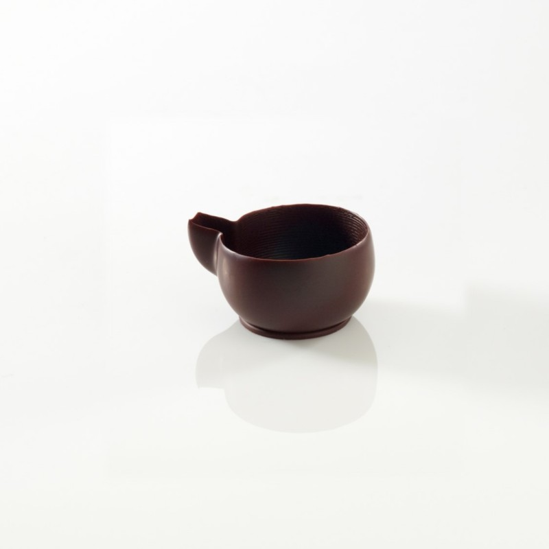 Mini tasse chocolat noir 2,5 cm-36