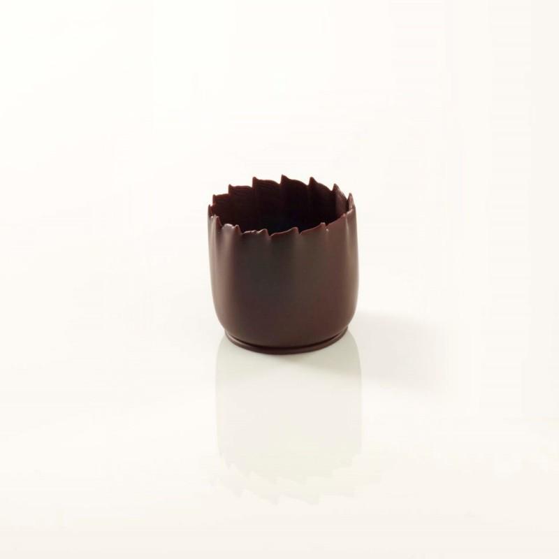 Mini coupelle chocolat noir 2,5 cm-36