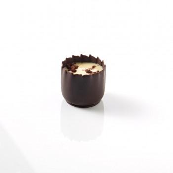 Mini coupelle chocolat noir 2,5 cm