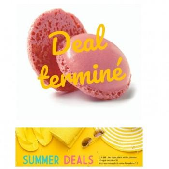 Summer Deals  Mini macaron rose 3,5 cm