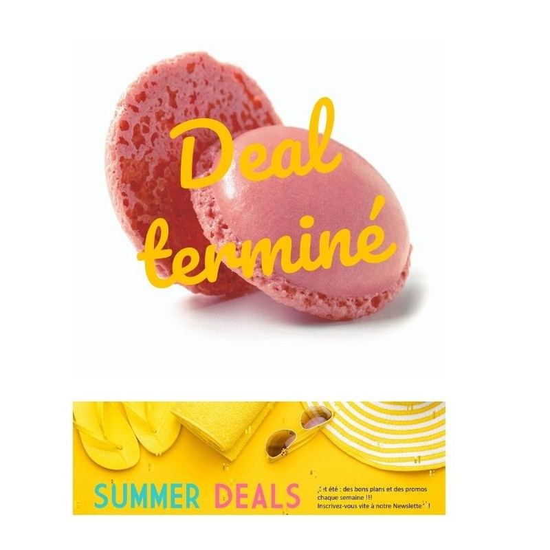 Summer Deals  Mini macaron rose 3,5 cm-35
