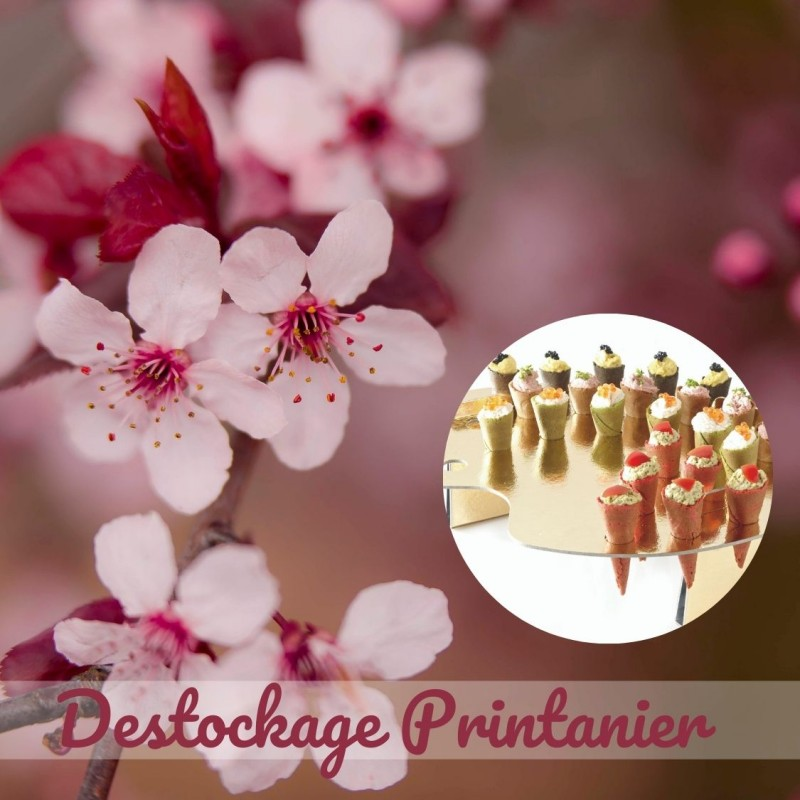 Destockage Assortiment de mini cônes 4 parfums + présentoir palette-13
