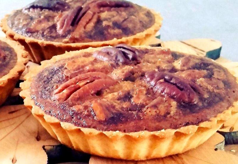 Tartelette sablée aux noix de pécan